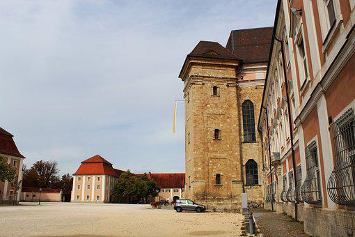 Wiblingen, Church, Monastery, Historically, Building