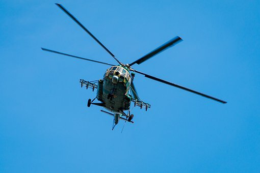 Helicopter, The Show, Flight, Airshow, Aviation
