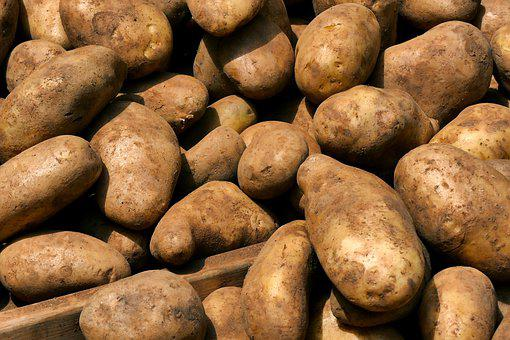 Bazaar, A Potato, Sweet Potatoes, Fresh Vegetables