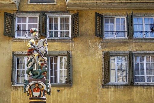 Building, Facade, Old, Historically