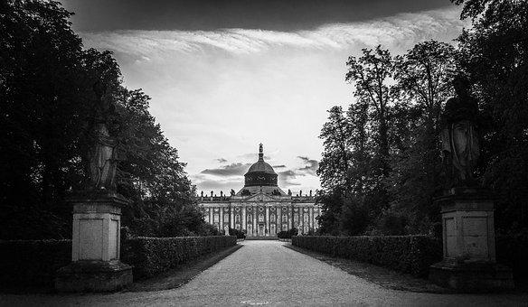 Closed Sanssouci, Potsdam, Berlin, New Palais