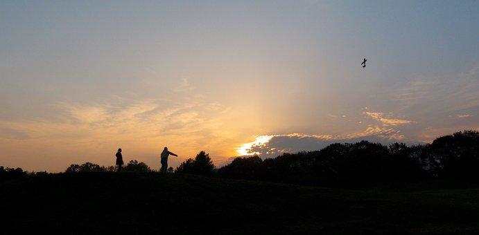 Sunset, Sky, Clouds, Nature, Twilight, Evening, Cloud