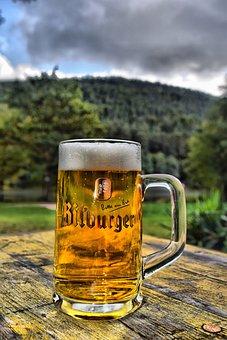 Hdr, Bitburger, Pint Glass, Cool Blonde, Landscape