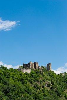Cornštejn, Ruins, Castle, History, Forest, Trees