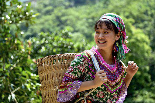 Ethnic Girls, Beautiful, Charming, Vietnam