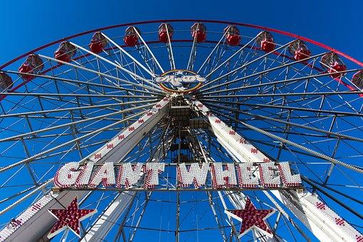 Nottingham Goose Fair, Amusement, Fair, Fairground