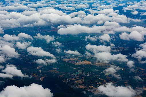 Sky, Clouds, Fly, Landscape, Nature, Weather
