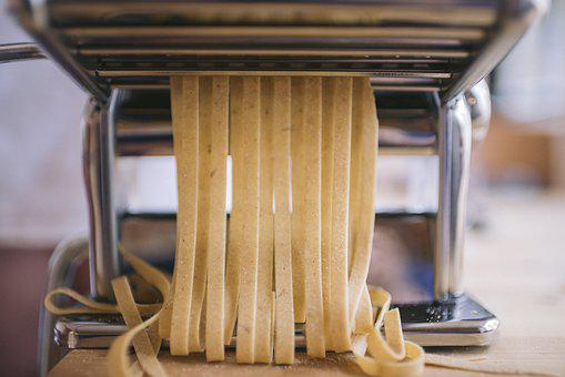 Pasta Machine, Spaghetti, Chef, Carbohydrates, Food