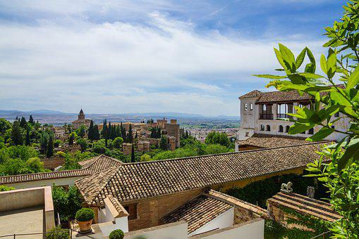 Spain, Granada, Alhambra, Andalusia, Palace, Building