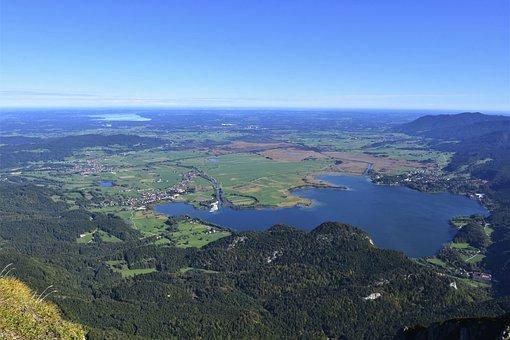 Alpine, Kochelsee, Lake, Vacations, Kochel Am See