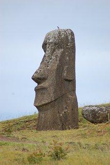 Easter Island, Rapa Nui, Moai, Statue, Sculpture, Chile
