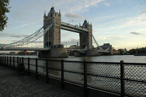 London, Bridge, England, City, Msn Letters