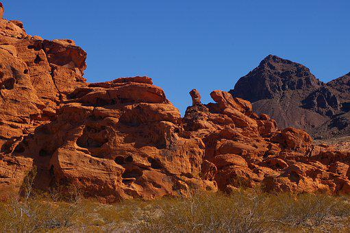 Valley Of Fire, Nevada, Las Vegas, Red Rocks, Nature