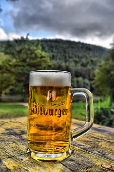 Hdr, Bitburger, Pint Glass, Cool Blonde, Landscape