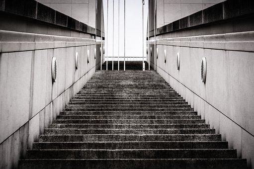 Stairs, Gradually, Architecture, Emergence, Staircase