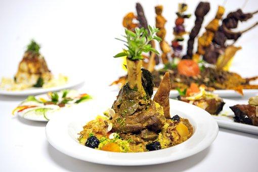 Lamb, Tagine, Morocco, Moroccan, Tagines, Plate