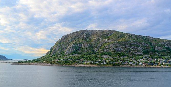 Norway, Coast, Alesund, Mountains, Rural, Travel