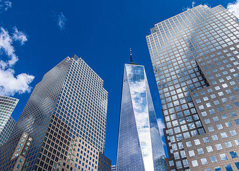 Sky, Nowyjork, Architecture, Freedomtower, White