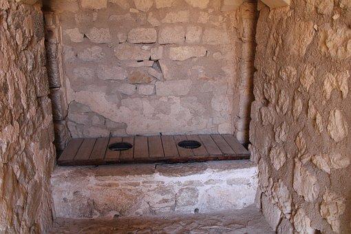 Latrines, Castle, Jaen, Jaén, Fortress, Andalusia