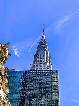 New York, City, Manhattan, Architecture, America