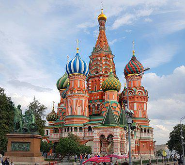 Moscow, Russia, Building, Places Of Interest