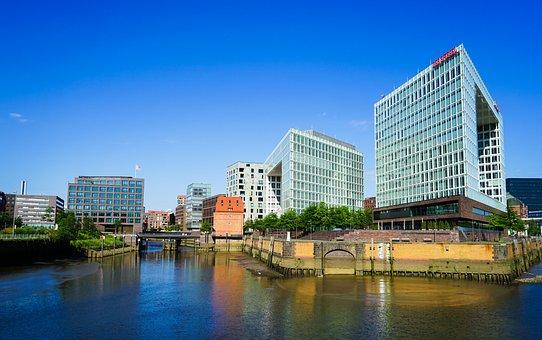 Hamburg, Landmark, Channel, Sky, Places Of Interest