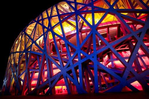 China, Olympic Stadium, Birds Nest Stadium, Beijing