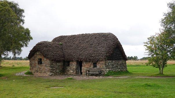Culloden, Hut, Not Much, Monument, Landscape