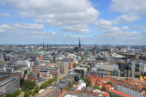 Hamburg, Germany, Europe, Architecture