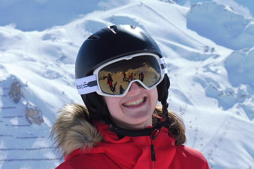 Girl, Ski, Skiing, Skier, Woman, Young, Female, White