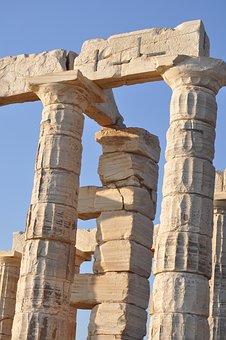 Greek Temple, Zeus, Athens, Greece, Ruin, History