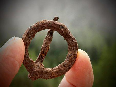 Ancient, Precious, Buckle, Iron, Middle Ages, Historian