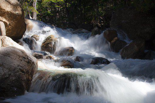 Brook, Water, Waterfall, Nature, River, Landscape