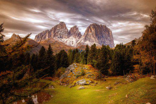 Dolomites, Mountains, Alpine, Landscape, Nature, Italy