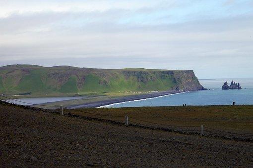 Coast, Rocks, Sea, Water, Nature, The Sky, Sand, Waves