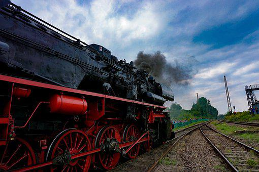 Steam Locomotive, Railway, Steam, Nostalgia
