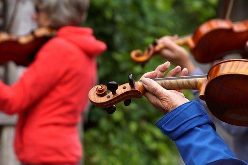 Violin, Play, Instrument, Musician, Geiger