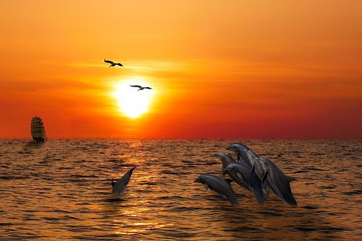 Travel, Holidays, Vacations, Sea, Sailing Vessel