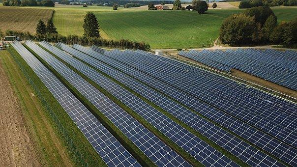 Photovoltaic, Solar Power Plant, Solar Modules, Site