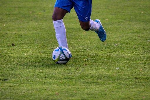 Youth Football, Football, Sport, Players, Boy, Ball