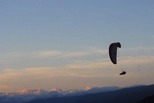 Paragliding, Sport, Panorama, Nature, Landscape