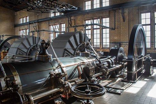 Steam Engine, Energy, Steam, Machine, Mechanical, Metal