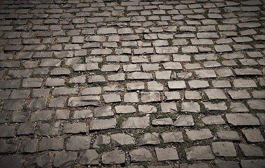 Surface, Pavers, Gray, Stone, Pavement, Grey, Uneven