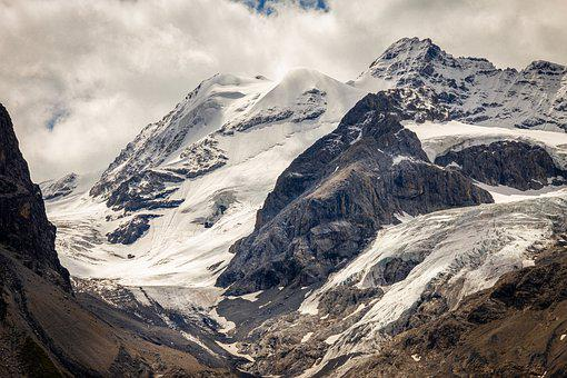 Stelvio Yoke, Mountains, Alpine, Summit, Landscape
