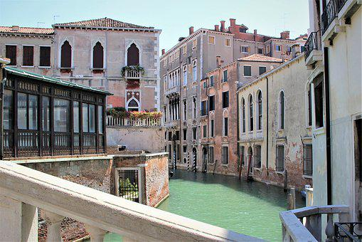 Venice, Busy, Water, Ways, Boats, Cruise, Summer
