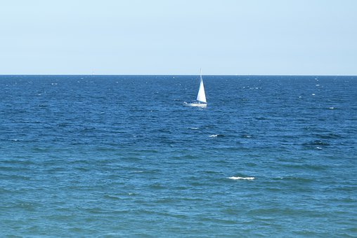 Blue, Sailing Boat, Sea, Baltic Sea, Sail, Ship, Water