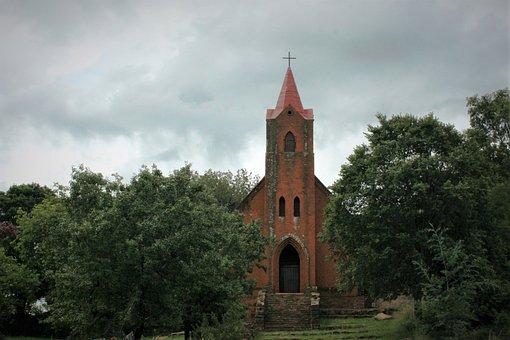 Church, Red, Raw Brick, Alexander Merensky, Botshabelo