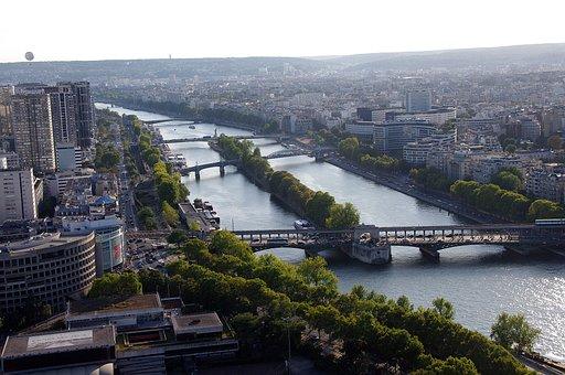 Architecture, Paris, Bridges, France, City, Urban