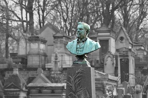 Sculpture, Torso, Bronze, Gray-green, Personality