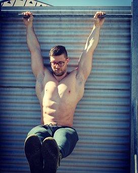 Chinup, Training, Motivation, Exercise, Bodybuilding
